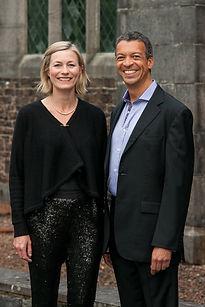 Roderick Williams and Susie Allan Llande
