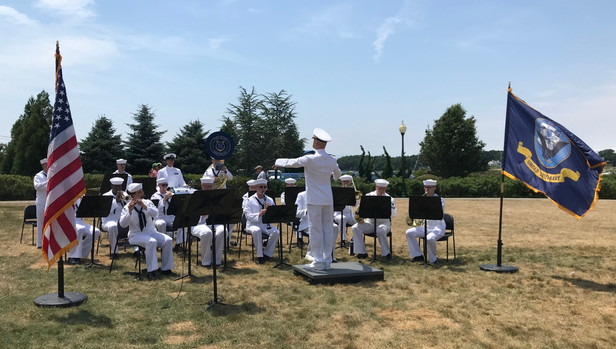 Navy Band Performing at Independence Park
