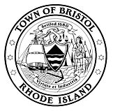 Town of Bristol B&W Seal.png