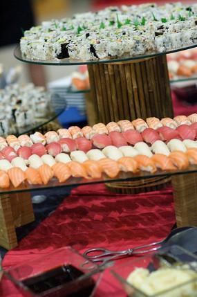 Sushi Display at the Gala