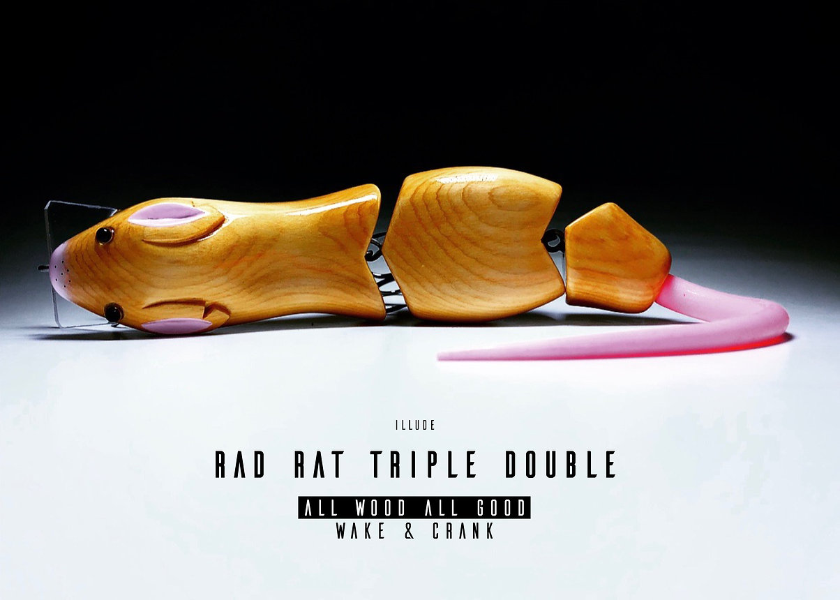 Illude Rad Rat Triple Double front page