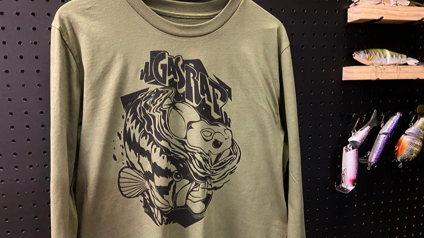 Lunker Fighters Gas Rat Long Sleeve