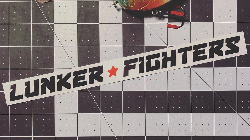 Lunker Fighters Stickers
