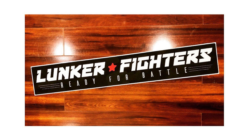 Lunker Fighters Ready For Battle Carpet Decal