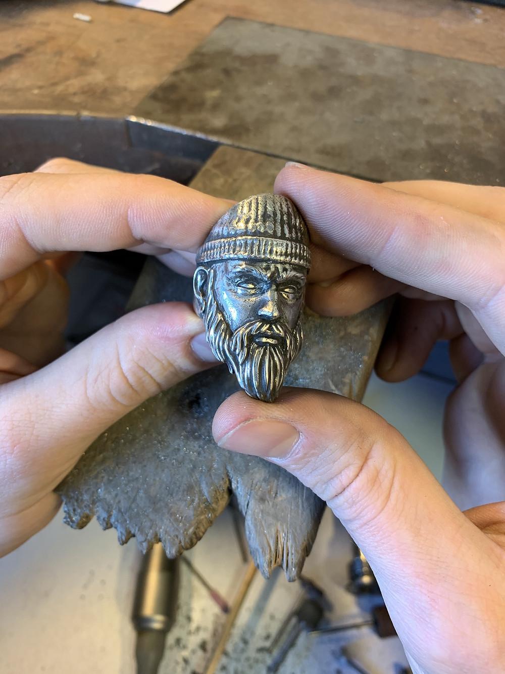 Bague Portrait / Bijoux Homme Genève / Créations bijoux