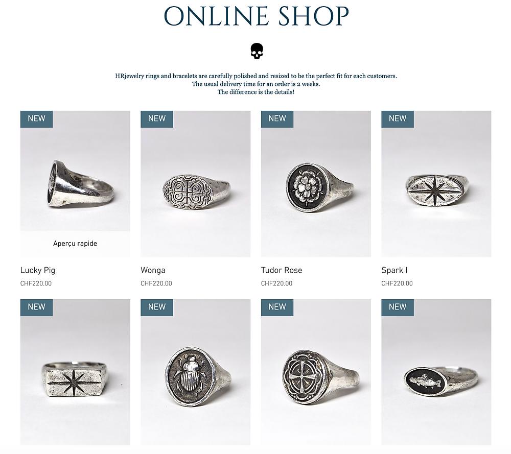 HRjewelry Geneva Nouvelle Collection Providencia / Bijoux sur mesure