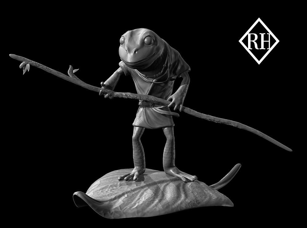 Zbrush Genève, Robin Haefeli Atelier, Rendu 3D, Modélisation 3D, Jeux Vidéo Genève