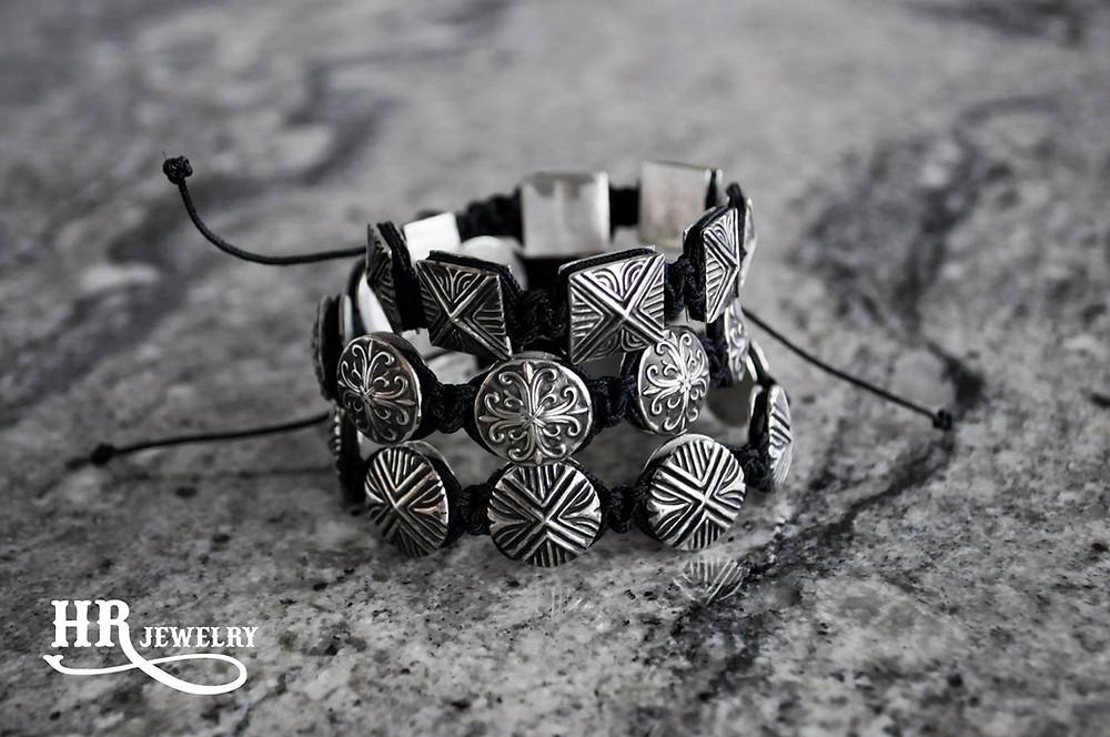 Bracelets en argent / création sur mesure