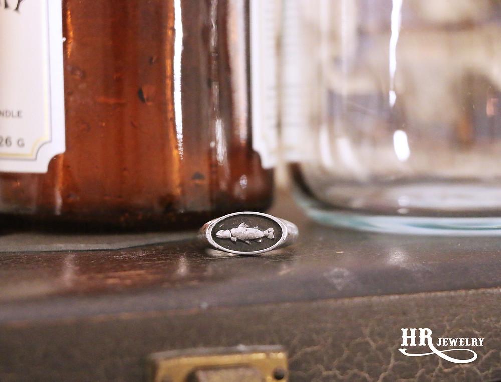 Bijoux Homme Genève / Créations bijoux / Chevalières sur mesure en argent