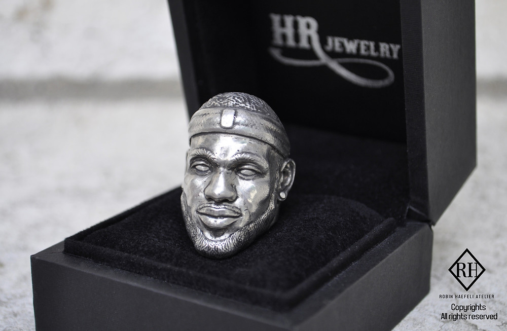 Lebron James Ring, ZBrush Genève, HRjewelry, Bijoux homme