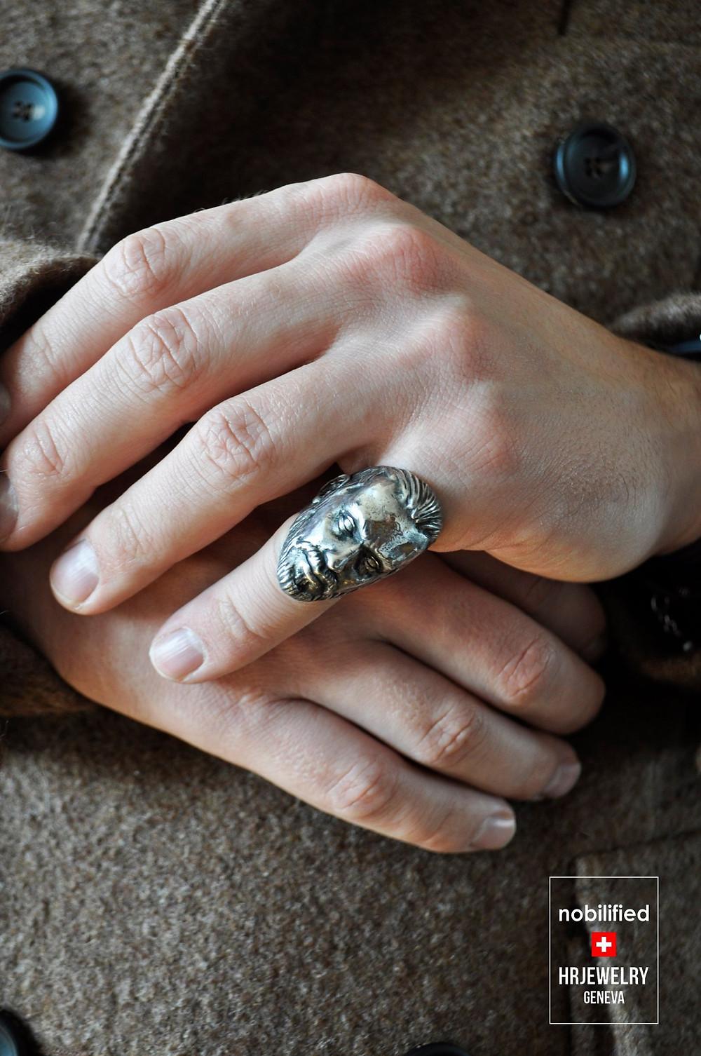 HRjewelry Geneva Bague sur mesure à Genève pour Homme et Femme / Création Swiss Made dans nos Ateliers à Genève