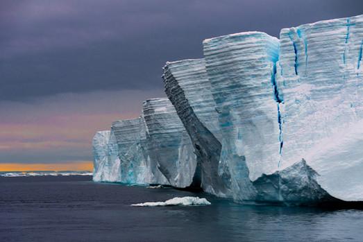 Iceberg tabulaire - mer de Weddell