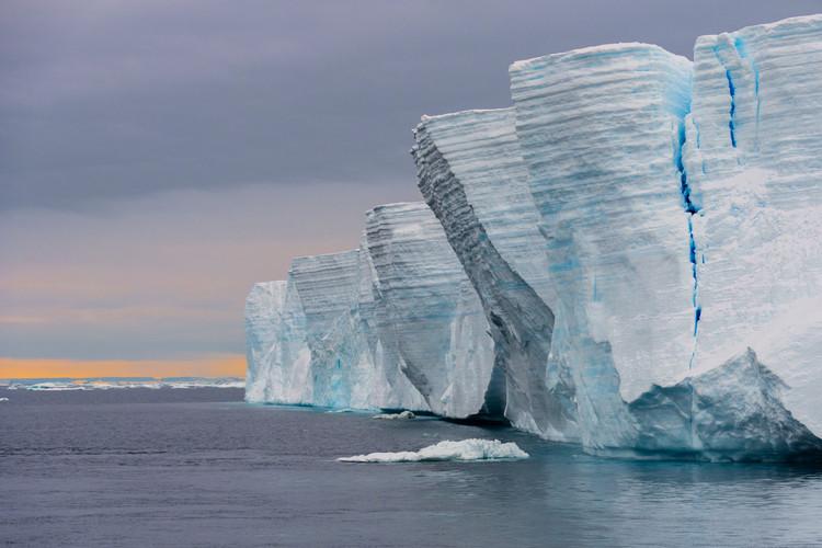 Tabular iceberg, Antarctica | Laura Jourdan Photography