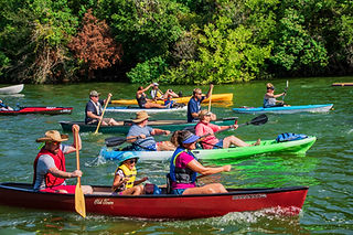 Clear Creek Paddle Trail Launch at Countryside Park