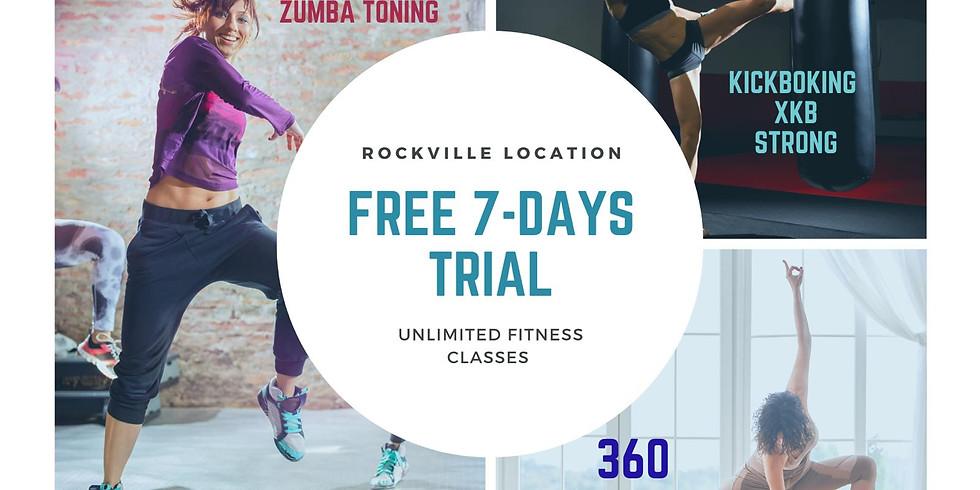 Free 7 days fitness trial