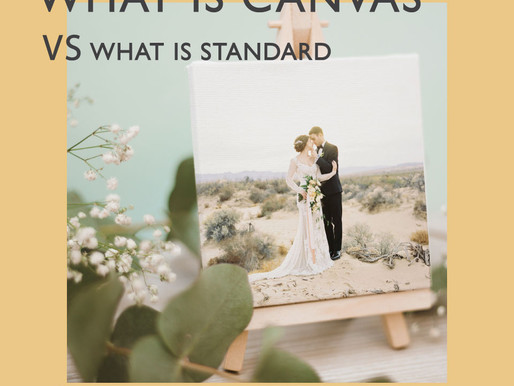 WHAT IS CANVAS VS WHAT IS STANDARD