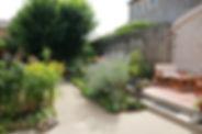 La Loge des Fées côté jardin
