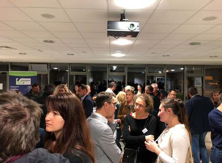 Rencontre avec les nouveaux entrepreneurs. Invitation de Caux Seine Agglo
