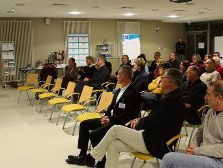 Conférence prise de parole (article Paris Normandie)