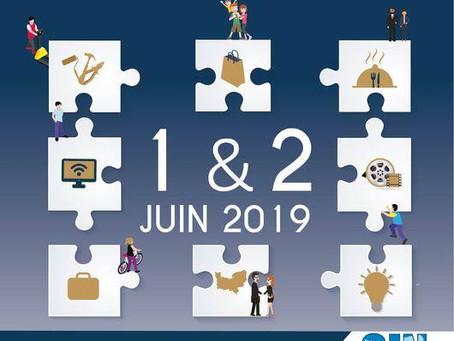 Affiche officielle du 3ème salon du savoir faire local