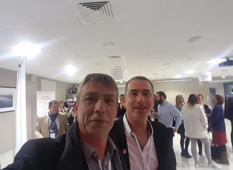 Rencontre avec les nouveaux entrepreneurs sur invitation de Caux Seine Agglo.