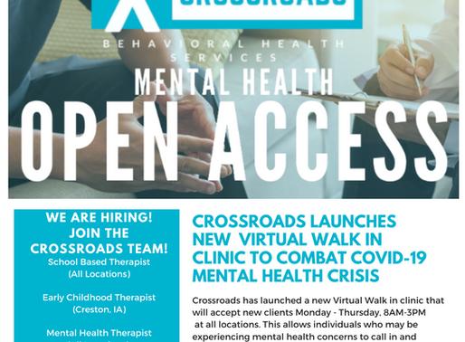 Crossroads Cares Newsletter: Quarter 4, 2020
