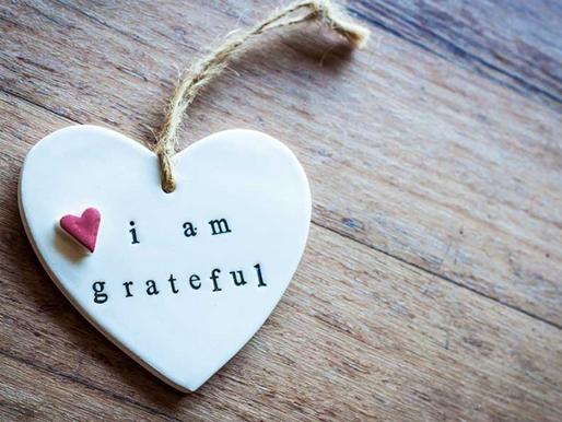Gratitude & Giving Tuesday 2019