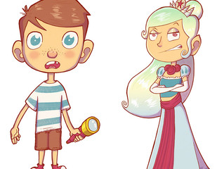 A Couple of Kids' Characters