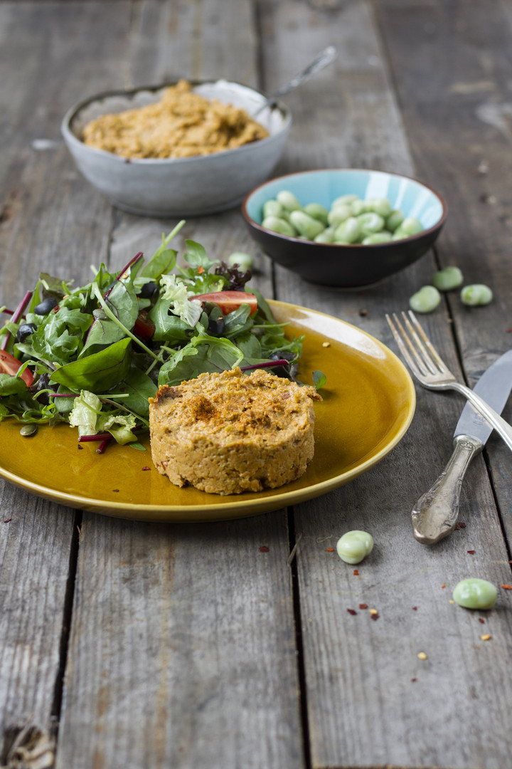 tuinbonen hummus op ons Broodje Verrasse