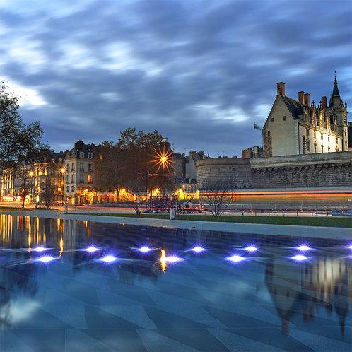 Nantes - Le Château 90X90 cm