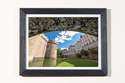 Nantes - Le Château 18X24 cm