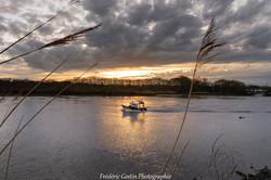 La Loire, retour de pêche