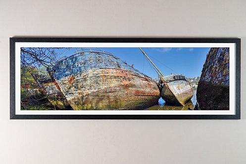 Douarnenez - Le Port Rhu 30X90 cm