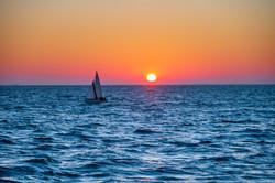 Sun rise Noirmoutier