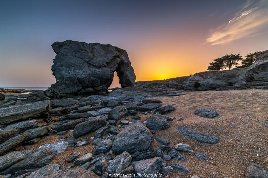 La roche percée - Préfailles 44