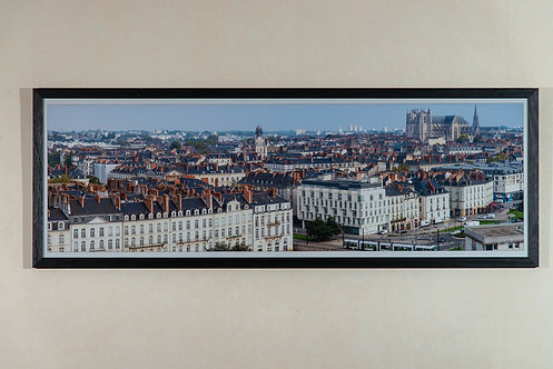 Nantes - Les Toits 30X90 cm