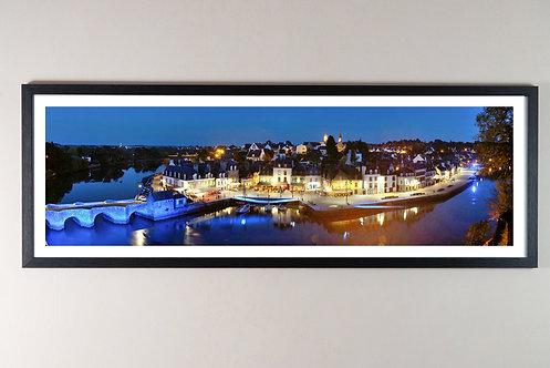 Auray - Port de Saint-Goustan 30X90 cm