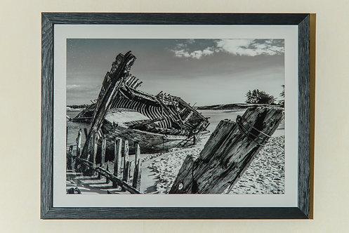 Etel - Le Magouër Noir & Blanc 30X40 cm