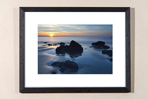 Lannion - plage de Beg leguer 30X40 cm