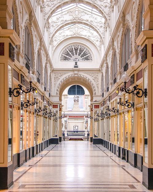 Nantes - Passage Pommeraye (vertical) 90X110 cm