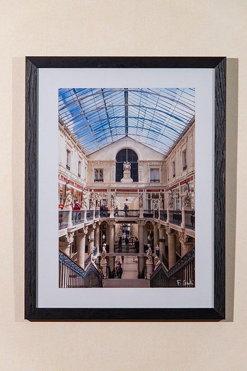 Nantes - Passage Pommeraye (escalier) 30X40 cm