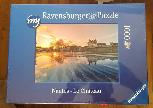 Puzzle 1000 pièces - Nantes le château