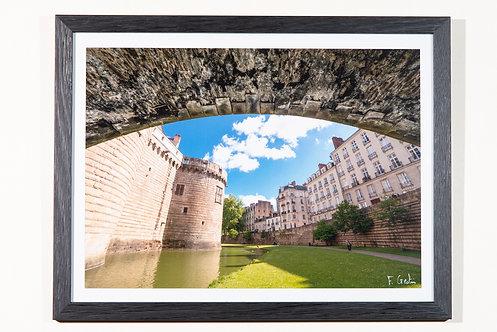 Château de Nantes 30X40 cm