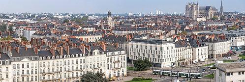 Nantes - Les Toits 53X160 cm