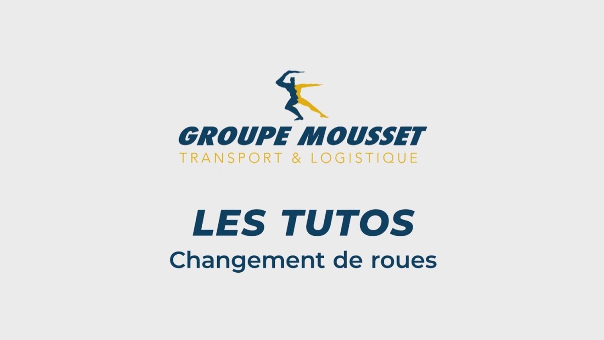 Groupe Mousset - Tuto Chariot Changement de roues