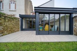 Terrasse imitation bois