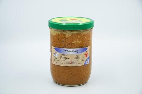 Porc au curry (650g)