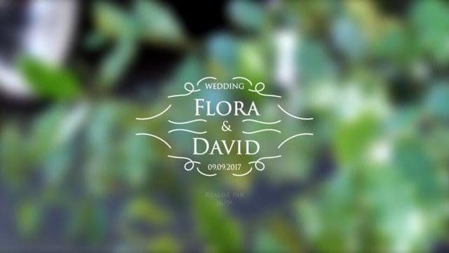 Flora & David - 9 Septembre 2017