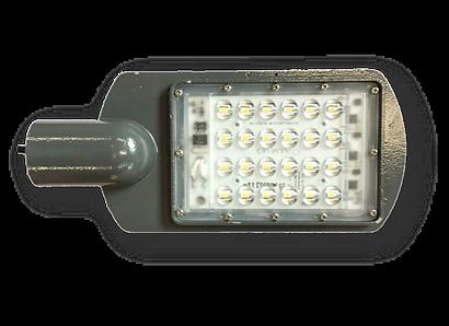foco luminaria solar para poste de chup