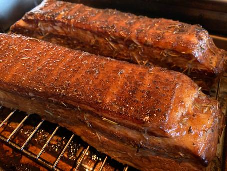 発酵豚の自家製ベーコン  25日、28日ディナータイムお休み